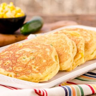 Corn Pancakes for #BreadBakers