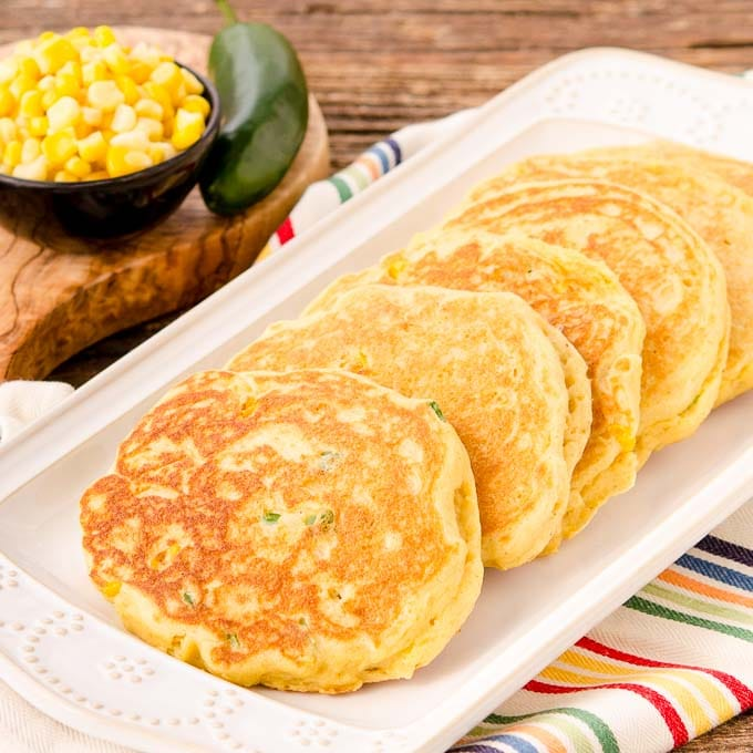 Corn Pancakes | Magnolia Days