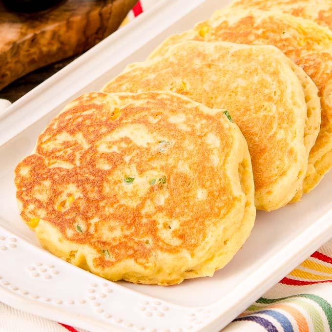 Corn Pancakes | Magnolia Days