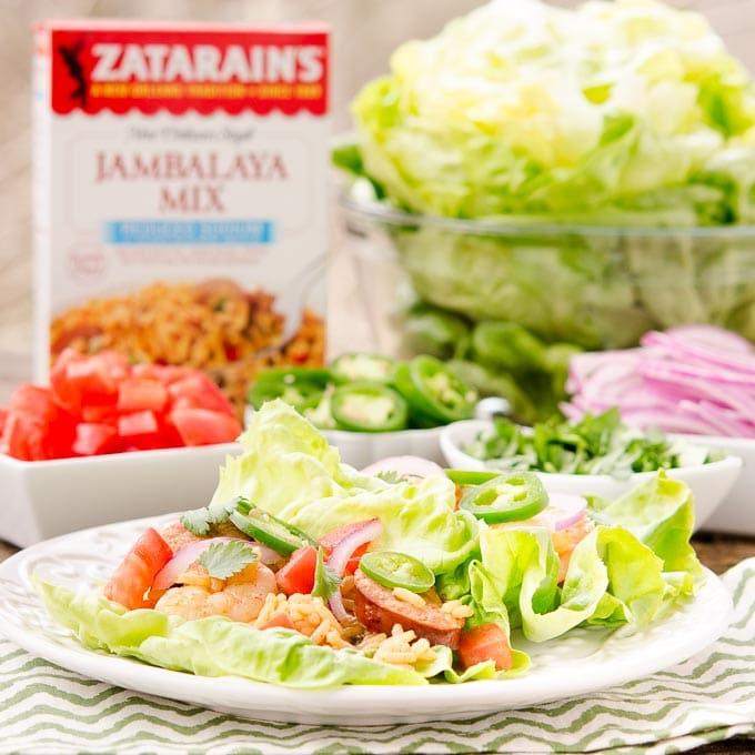 Jambalaya Lettuce Wraps - Magnolia Days