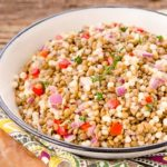 Lemony Couscous Lentil Salad | Magnolia Days