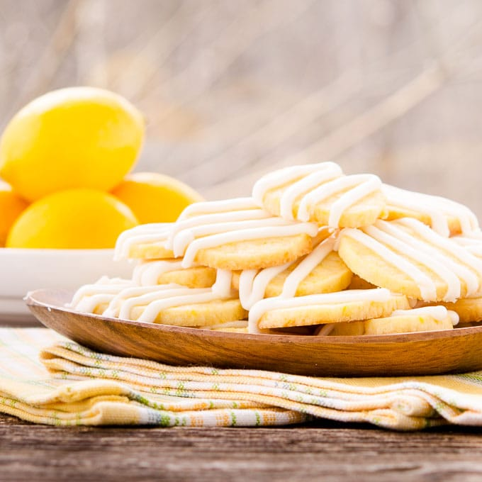 Meyer Lemon Butter Cookies | Magnolia Days