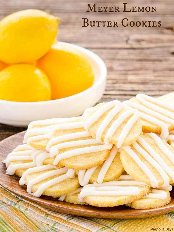 Meyer Lemon Butter Cookies are a delightful sweet treat. They are ...