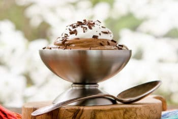Blender Bourbon Chocolate Pudding | Magnolia Days