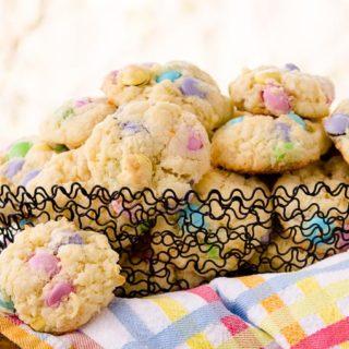 Chocolate Candy Coconut Cookies for #CreativeCookieExchange