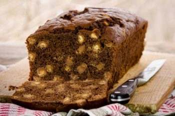 Chocolate Peanut Butter Chip Quick Bread | Magnolia Days
