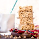 Double Peanut Butter Rice Krispie Treats | Magnolia Days