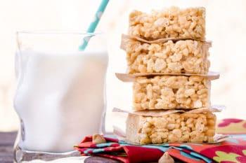 Double Peanut Butter Rice Krispie Treats | Magnolia Days