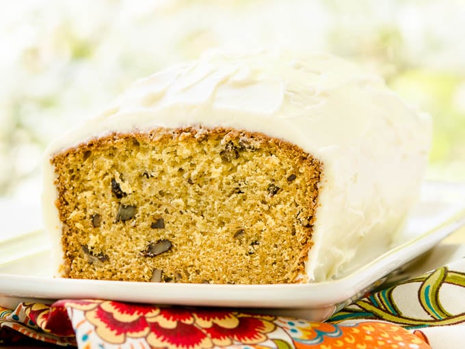 Golden Parsnip Loaf Cake | Magnolia Days