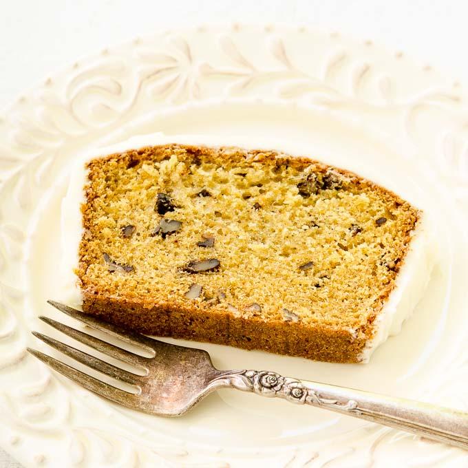 Golden Parsnip Loaf Cake   Magnolia Days