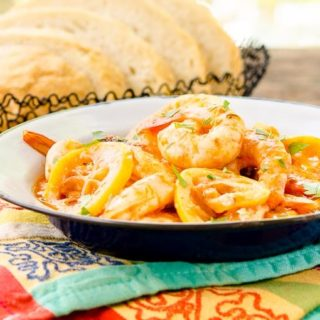 Lemony Barbecue Shrimp