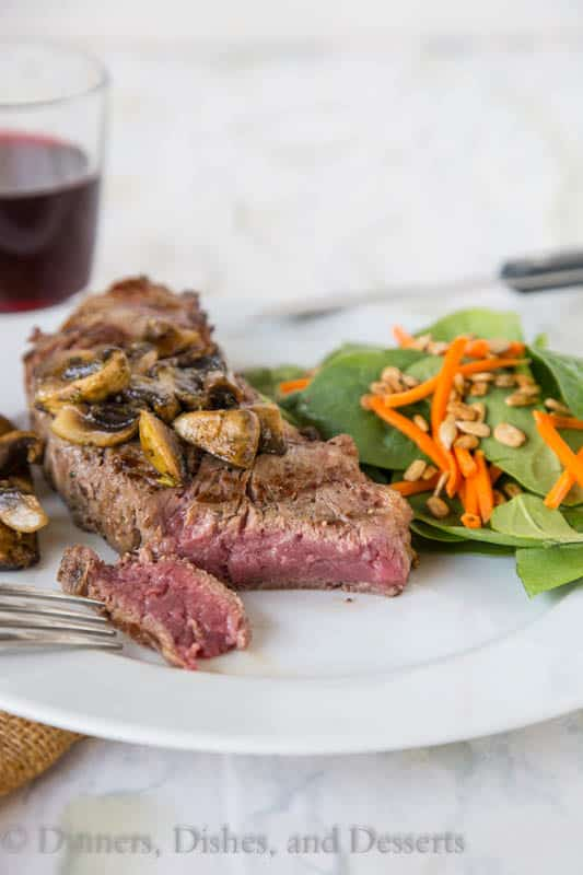 Perfect Grilled Ribeye by Dinners, Dishes, and Desserts