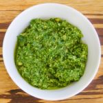 Pesto with Basil and Fresh Herbs | Magnolia Days