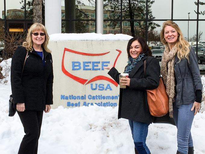 Renee, Isabel, and Krayl at NCBA Headquarters