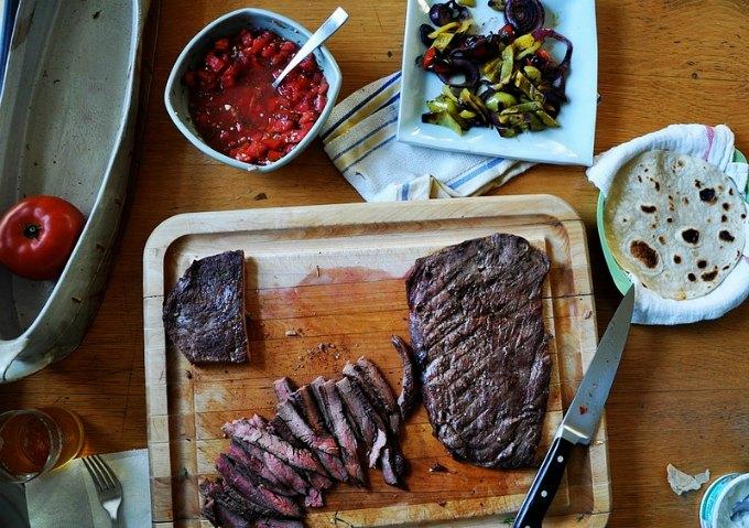 Classic Steak Fajitas by ¡Hola! Jalapeño