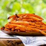 Baked Sriracha Sweet Potato Fries | Magnolia Days
