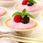 No-Bake Summer Berry Cream Cheese Tarts by Magnolia Days