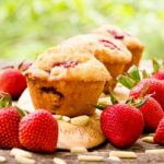Strawberry Almond Muffins | Magnolia Days