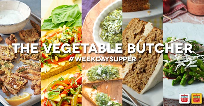 Weekday Supper - The Vegetable Butcher Collage