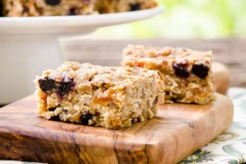 Whole Grain Mixed Fruit Breakfast Bars by Magnolia Days