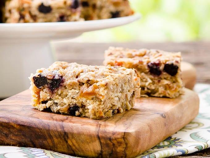 Whole Grain Mixed Fruit Breakfast Bars by Magnolia Days