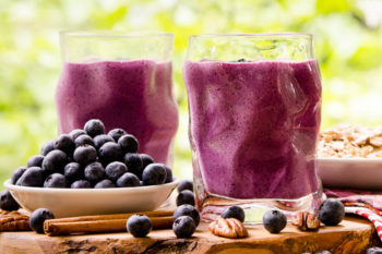 Blueberry Crumble Pie Smoothie by Magnolia Days