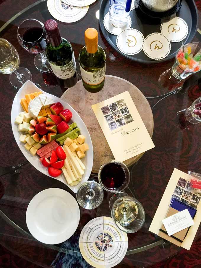 CK Mondavi Wine Tasting | Magnolia Days
