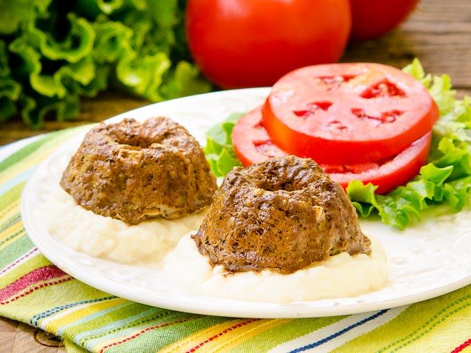Mini Meatloaf Bundts by Magnolia Days