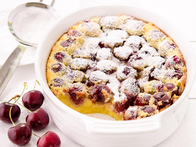 Cherry Clafoutis by Magnolia Days