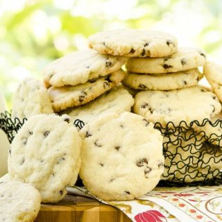 Chocolate Chip Cream Cheese Cookies for #CreativeCookieExchange