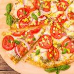 Corn and Tomato Pizza by Magnolia Days