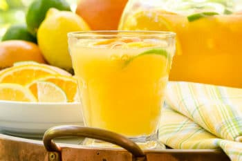 Fresh Citrus Wine Punch by Magnolia Days