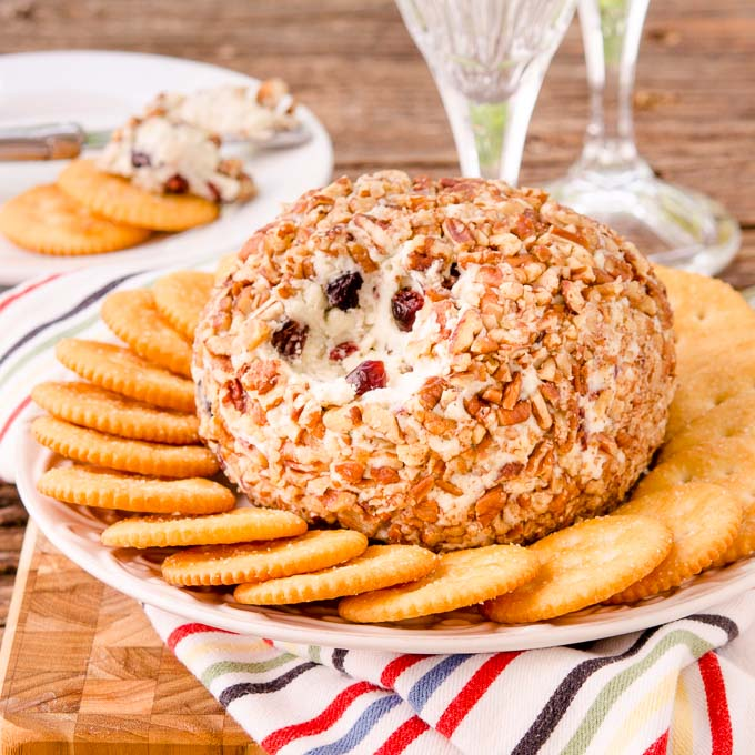 Honey Berry Blue Cheese Ball by Magnolia Days