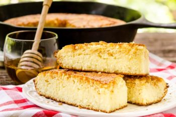 Honey Cornbread for #BreadBakers