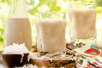 Horchata de Coco (Mexican Coconut Rice Drink)