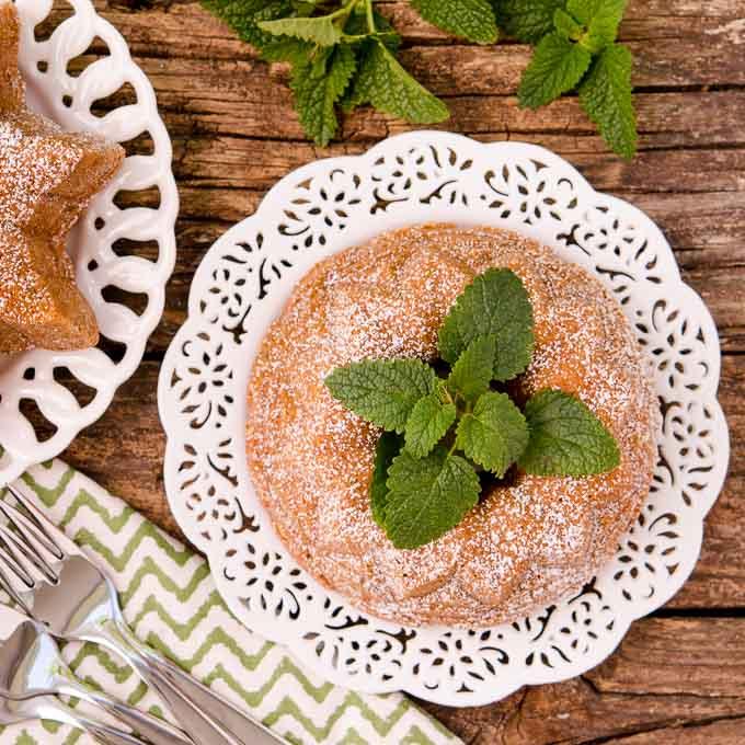 Lemon Balm Bundt Cake by Magnolia Days