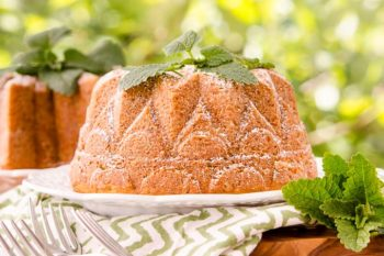 Lemon Balm Bundt Cake by Magnolia Days