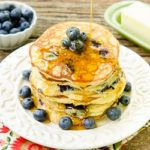 Blueberry Masa Harina Pancakes by Magnolia Days