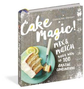 Cake Magic cookbook by Caroline Wright