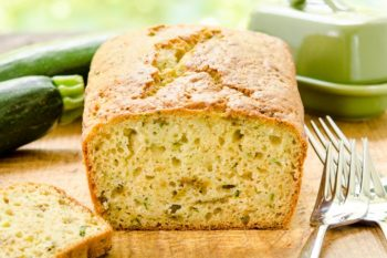 Hatch Chile Zucchini Bread for #BreadBakers