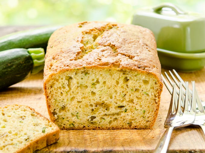 Hatch Chile Zucchini Bread by Magnolia Days