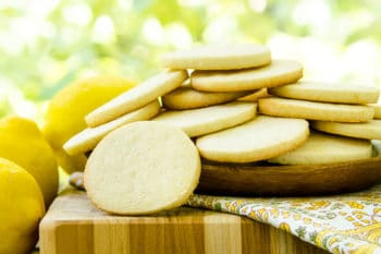 Lemon Sour Cream Cookies by Magnolia Days