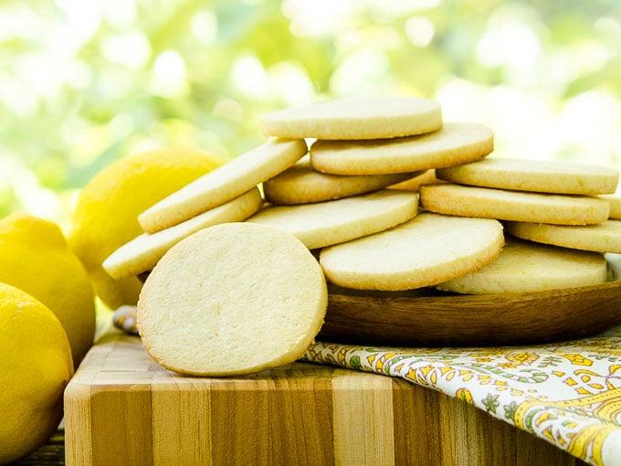 Lemon Sour Cream Cookies by Magnolia Days