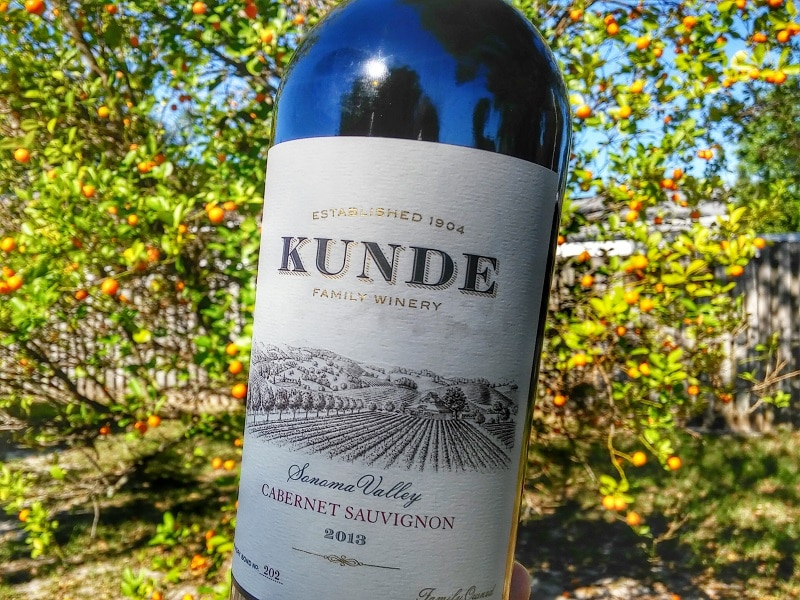 "Kunde Cabernet Sauvignon 2013 is considered the ""house"" wine of Kunde Family Winery. Get the tasting notes and recommended food pairings!"