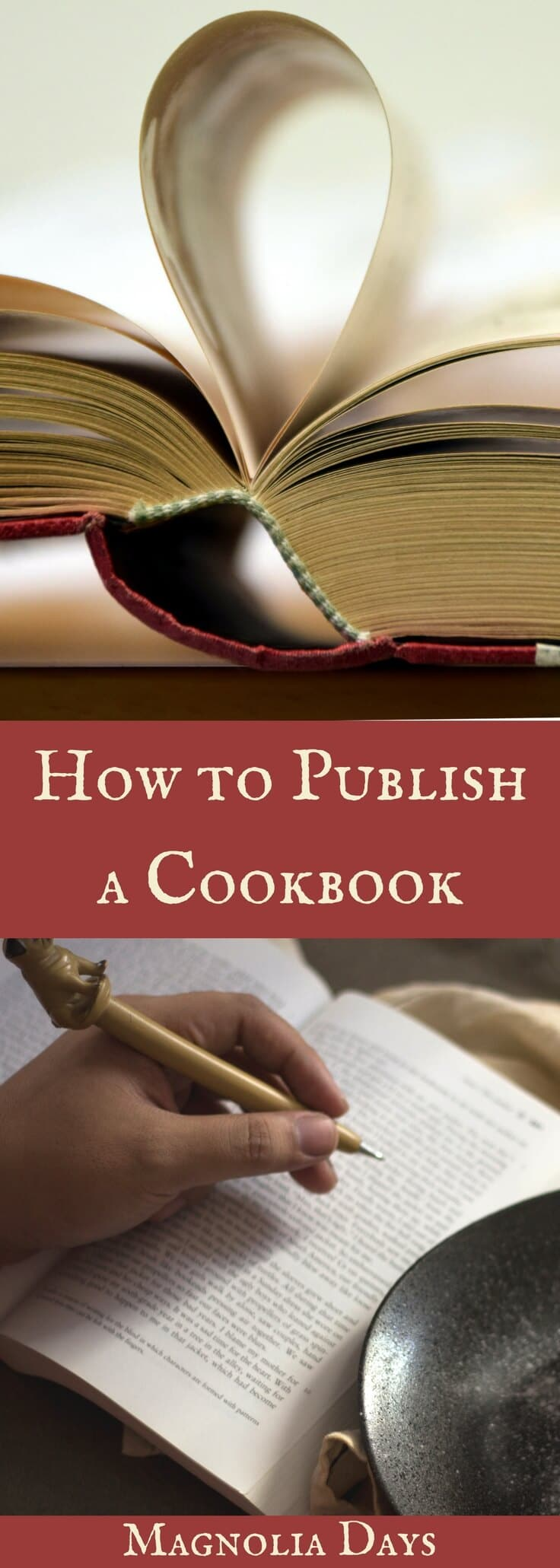 How to Publish a Cookbook is the step-by-step story of how I planned, wrote, photographed, self-published, and marketed a cookbook.  New updates every month!