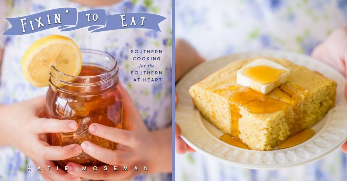 Front and back cookbook cover for Fixin' to Eat