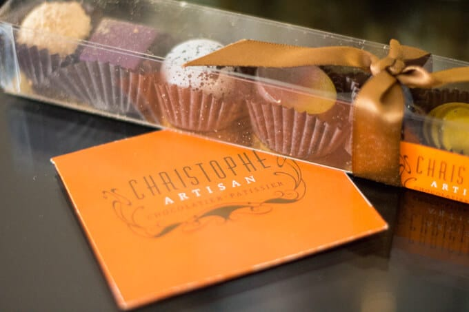 Christophe Artisan Chocolates from Charleston SC