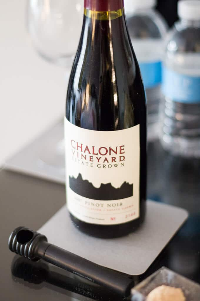 Chalone Vineyard mini wine bottle