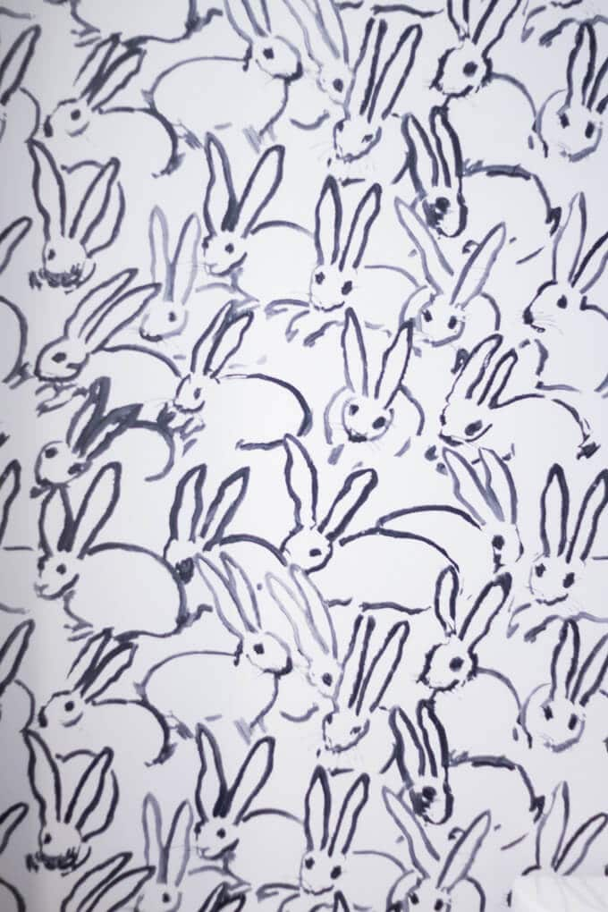 Rabbit Bathroom wallpaper at Renaissance Charleston Historic District
