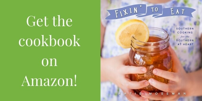 Cover of Fixin to Eat with Amazon sales text on green background